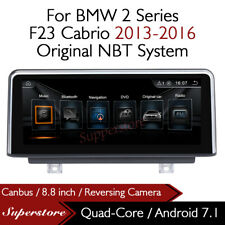 """Quad Core 8.8"""" Car Multimedia Player GPS Android 7.1 For BMW 2 Series F23 Cabrio"""