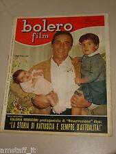 BOLERO=1965/969=ARNOLDO FOA=NINO BENVENUTI=VALERIA MORICONI=GERALDINE CHAPLIN=