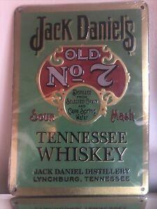 Jack Daniels Metal Tin Sign Collectors Item Beer Memorabilia Pub Bar Restaurant