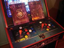Ultimate MORTAL KOMBAT 3 Original1996 Video Arcade Promo Flyer UMK3 1x sheet
