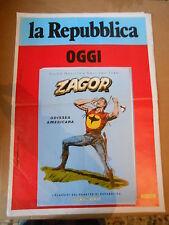 ZAGOR - MANIFESTO-LOCANDINA-EDICOLA 49,5X70-i classici del fumetto-SERIE ORO