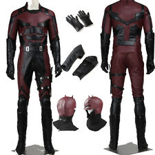 Full Suit Daredevil Super Daredevils Michael Murdock Cosplay Costume Any Size