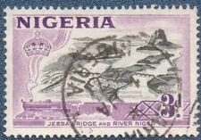 NIGERIA  SG 73  (B426) Good  Used with 'ZARIA' cds