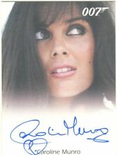 James Bond Heroes & Villains Autograph Card Caroline Munro