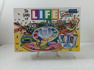 The Simpsons Edition Game Of Life 2004 Board Game Night