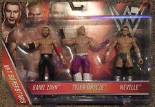 WWE Kmart NXT Superstars 3 Pack NEW Tyler Breeze Sami Zayn Neville
