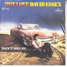 "DAVID ESSEX  Hot Love PICTURE SLEEVE NEW 7"" 45 record + juke box title strip"