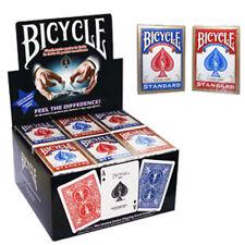 Bicycle - Mazzo regolare formato poker - confezione da 36 mazzi rosso e blu.