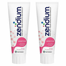 Zendium Sensitive Toothpaste with Natural Antibacterial Enzymes 2x75ml