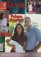 ROYALTY MONTHLY MAGAZINE YOUR MIRROR ON THE WORLD'S ROYALS UK SEPT/OCT 2013.