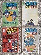 The Sleeze Brothers Comics #1 #3 #4 #6 Bundle Series Rare Original VTG