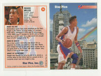 50 count lot 1991/92 Star Pics Reggie Miller Flashback Cards #20 Pacers Guard!