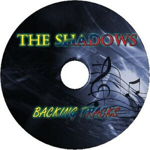 THE SHADOWS GUITAR BACKING TRACKS CD BEST GREATEST HITS MUSIC PLAY ALONG MP3 60s