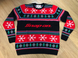 Snap On Tools Christmas Jumper - Brand New - LGXMAS19M - Size Medium