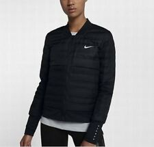 Women's Nike Aeroloft Down Fill Running Jacket 856634-010 Black Xtra Small