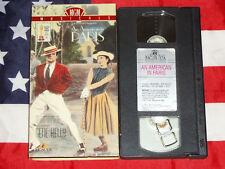 An American in Paris (VHS, 1951) Gene Kelly, Leslie Caron, MGM Musical Video