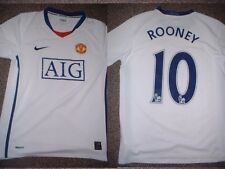 """Manchester United Rooney Jersey Shirt Boys L 32"""" Soccer Football Nike England W"""