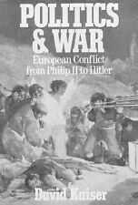 Politics and War: European Conflict from Philip II to Hitler.