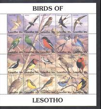 Lesotho 1992 BIRDS/Raptors/Falcon 20v s-t sht (n13767)