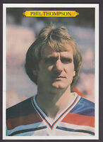 Topps - Topps Spotlights - # 25 Phil Thompson - Liverpool & England