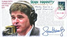 COVERSCAPE computer designed Radio/TV host Sean Hannity 50th event cover