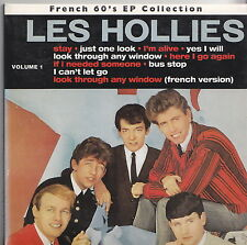 LES HOLLIES   CD MAGIC COLLECTOR DIGIPACK  FRENCH 60'S EP COLLECTION
