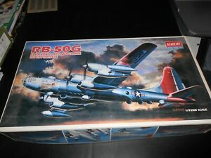 ACADEMY 2156, 1/72 RB-50G ELECTRONIC RECON SUPER-FORTRESS PLASTIC MODEL KIT