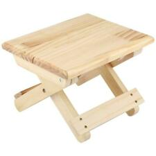 Wood Small Shoe Stool for Household Outdoor Fishing
