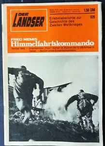 Der Landser 929 Himmelfahrtskommando 1944 Unternehmen Troja Italien im Rücken US