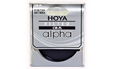 Hoya 72mm ALPHA Circular Polarizer CPL CRPL Cir-PL Glass Filter - Brand New