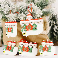 2020 DIY Christmas Tree Hanging Pendant Christmas Ornaments Decorations For Home