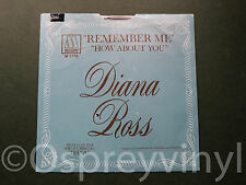 """Diana Ross Remember Me Mint US Motown 7"""" Picutre Sleeve"""