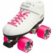 Riedell R3 Skate White Roller Derby Beginner Indoor Brand New FREE POSTAGE