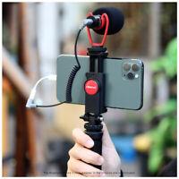 Ulanzi Vlog Smartphone Camera Tripod Mount Microphone Kit for iPhone Huawei