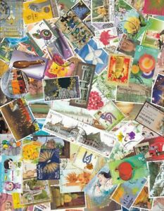 THAILAND === SCANNER FULL OF COMMEMORATIVE STAMPS OVER 100 DIFF === USED CDS