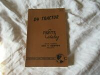 1946 Caterpillar D4 tractor parts catalog book manual