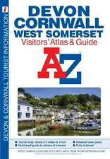 Devon, Cornwall and West Somerset Visitors' Atlas 2019 by A-Z Maps