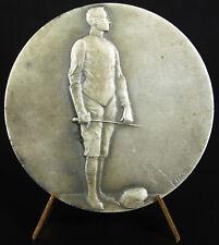 Médaille c 1920 escrime fencing sword épée fleuret sport sabre saber medal