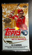 2013 Topps Baseball Series-2 10cd HOBBY Pack Box Fresh (Rookie Auto Relics)?