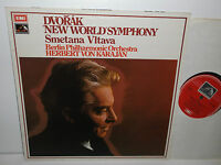 ASD 2863 Dvorak New World Symphony Berlin Philharmonic Orch Herbert Von Karajan