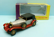 10789 MATCHBOX /ENGLAND /MODELS OF YESTERDAY Y13 MERCEDES BENZ SS COUPE 19281/45