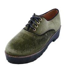 Scarpe da donna mocassini verde senza marca