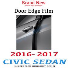 Genuine OEM Honda Civic 4DR Sedan Door Edge Film 2016 - 2017