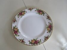 Set @ 4 New Royal Doulton- Albert Old Country Roses Dinner Bone China Plates