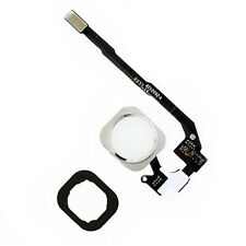 iPhone 5S SE Home Button White Menu Button Replacement Flex Cable With Seal