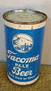 *1941* Rainier brewing Tacoma Pale Flat Top Beer can