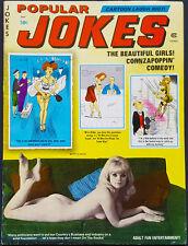 POPULAR JOKES (Humorama) Magazine May 1975 Bill Ward Wenzel Girlie Pin Up Art