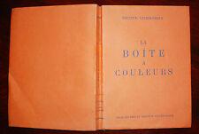 LA BOITE A COULEURS du DOCTEUR LUCIEN GRAUX 1937