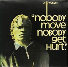 Yellowman Nobody Move Nobody Get Hurt LP Vinyl 33rpm