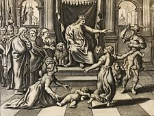 Jugement de Salomon Jacob Matham après Hendrick Goltzius 1606 -1652 Justice